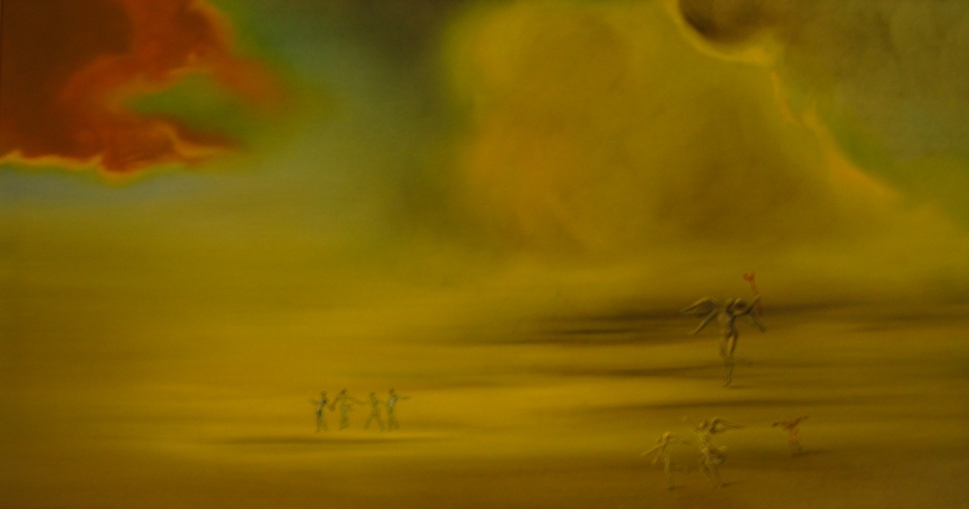 Angelic Landscape by Salvador Dali. Museo Vaticani. photography by tony0.